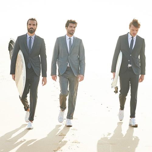 Costume bleu serge blanco - Idée de Costume et vêtement 55aefe80d3d