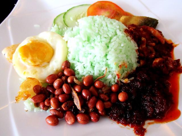 Keripan nasi lemak sambal sotong