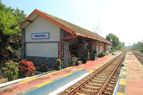 Stasiun Minggiran, Kediri