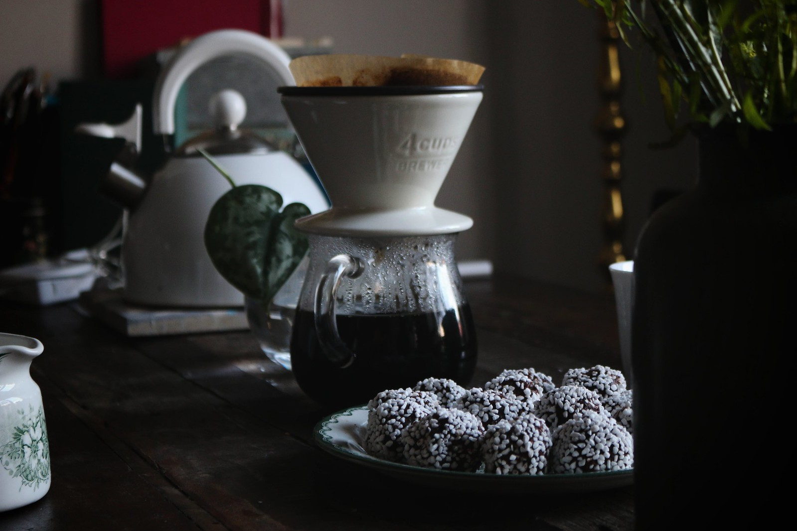 chokladbollar rosa nejlika slow coffee chokladbollar
