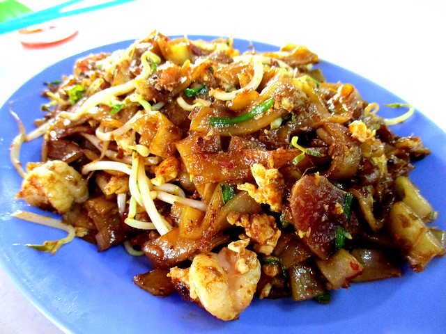 Bateras Food Court sambal kway teow