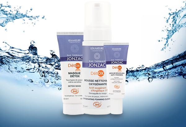 nouvelle gamme DETOX eau thermale jonzac