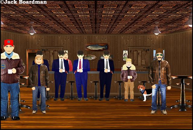 Inside O'Donnell's Bar ©Jack Boardman