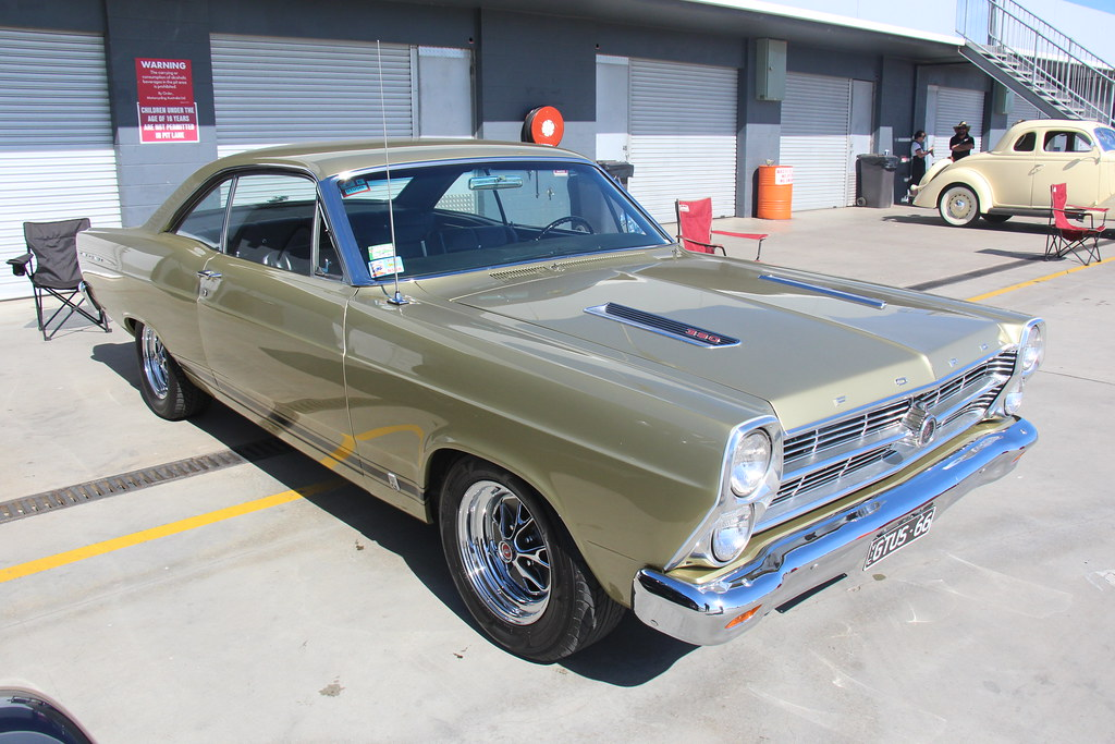 Ford Model B >> 1966 Ford Fairlane GTA Hardtop Coupe | Sauterne Gold. From ...