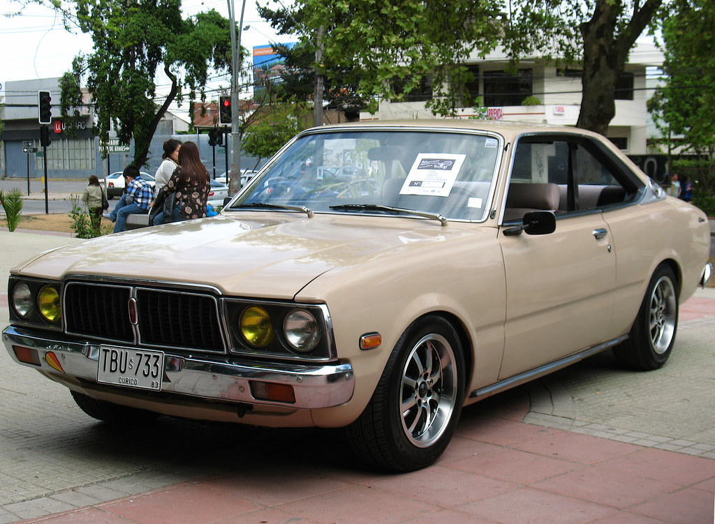 Toyota Corona 2000 Coupe 1978 Rl Gnzlz Flickr