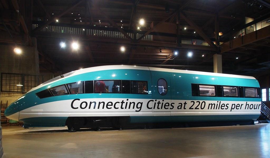 Siemens High Speed Train Mock-up 1 | California State