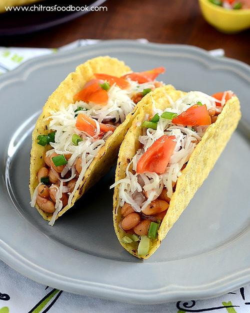 Easy tacos recipe vegetarian