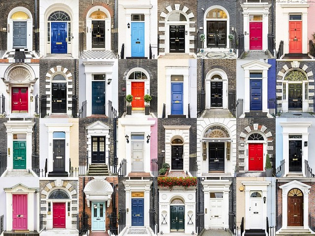 mymodernmet: Photographer Captures Charming Diversity of Colorful Front Doors from Around the World