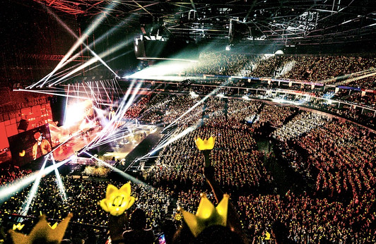 Bigbang concert in Hangzhou 10 tons of garbage, cleaning staff: off-white