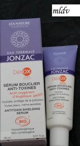 sérum bouclier anti-toxines eau thermale jonzac