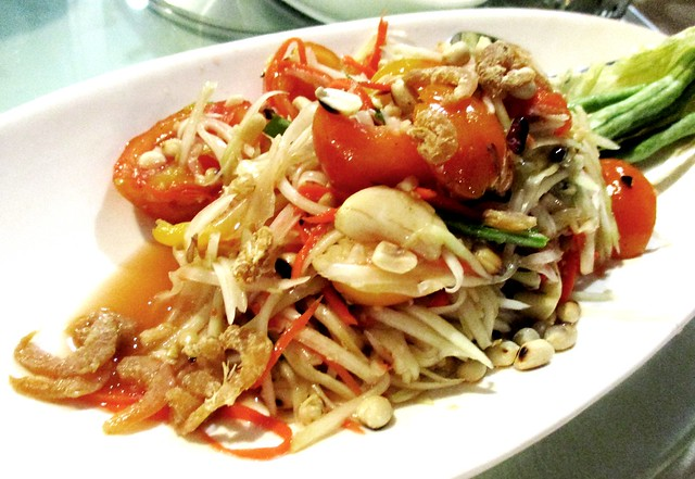 Flavours som tam green papaya salad