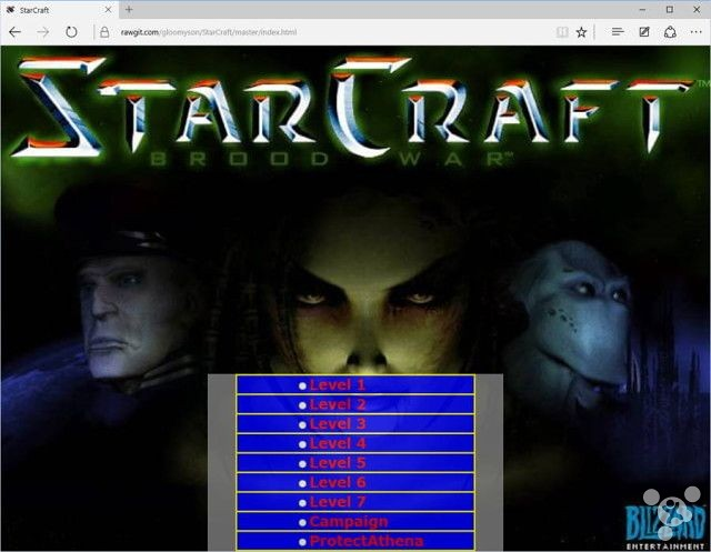 To get Blizzard halted the Web version of the star plan