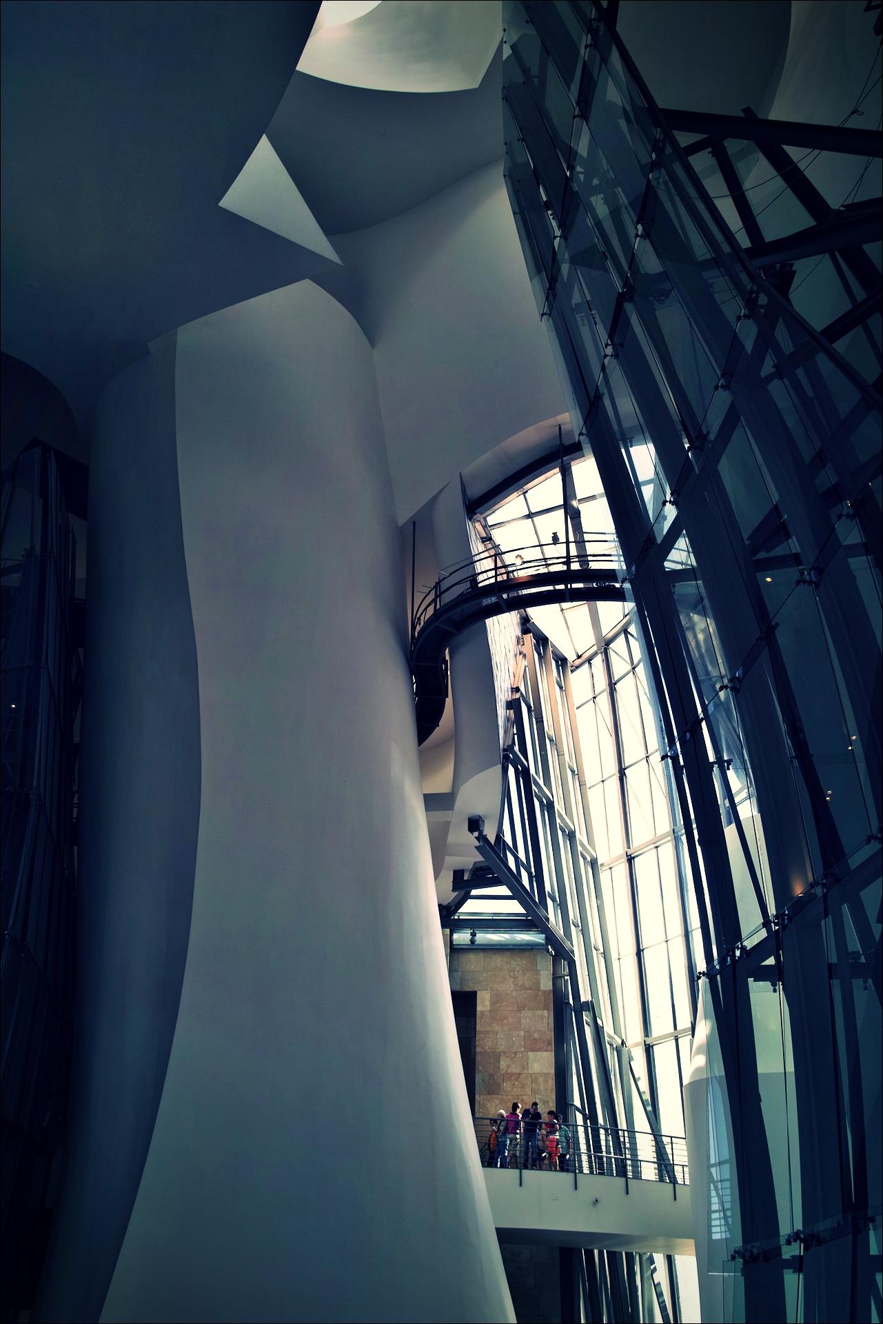 내부-'빌바오 구겐하임 미술관 Guggenheim museum bilbao'
