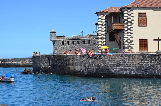 Harbour, Puerto de la Cruz, Tenerife