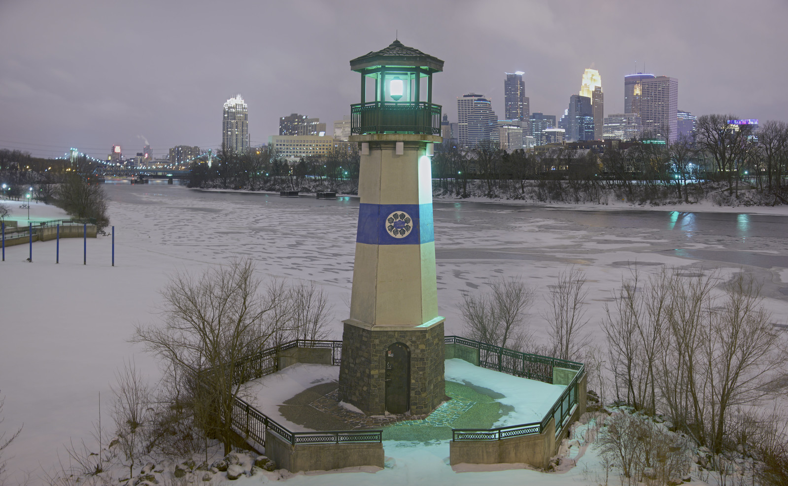 Boom Island Lighthouse - Minneapolis, MN
