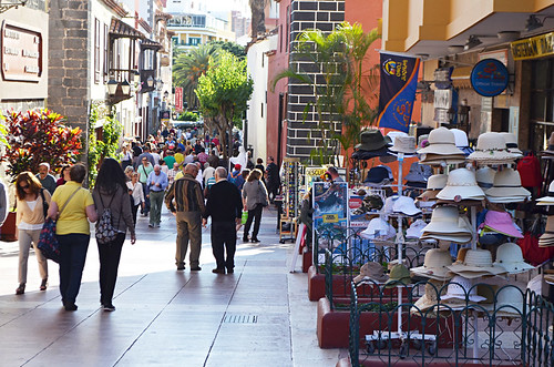 Calle Quintana, Puerto de la Cruz, Tenerife