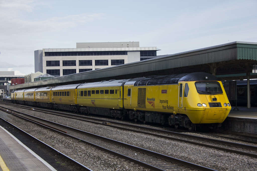 Flying Banana At Cardiff Central Network Rail S New