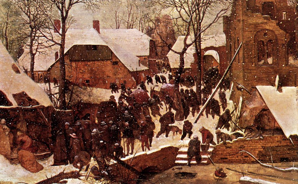Adoration of the Kings in the Snow by Pieter Bruegel the Elder, 1567