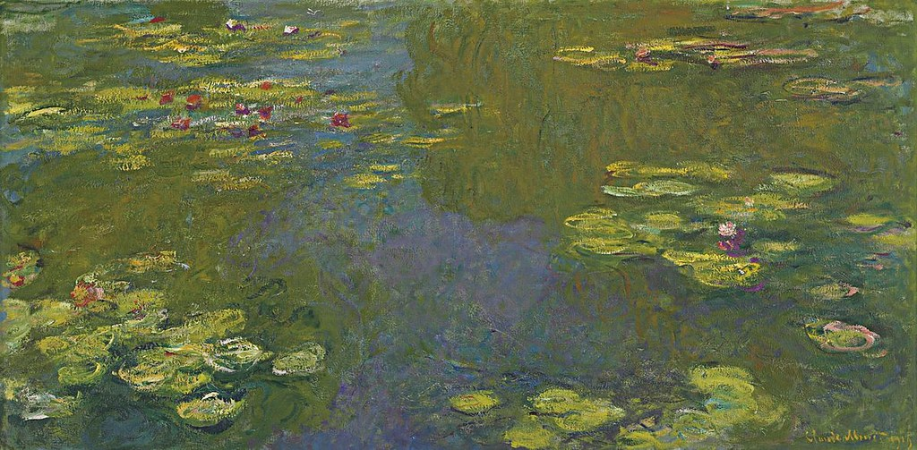 Le Bassin Aux Nymphéas by Claude Monet, 1919.
