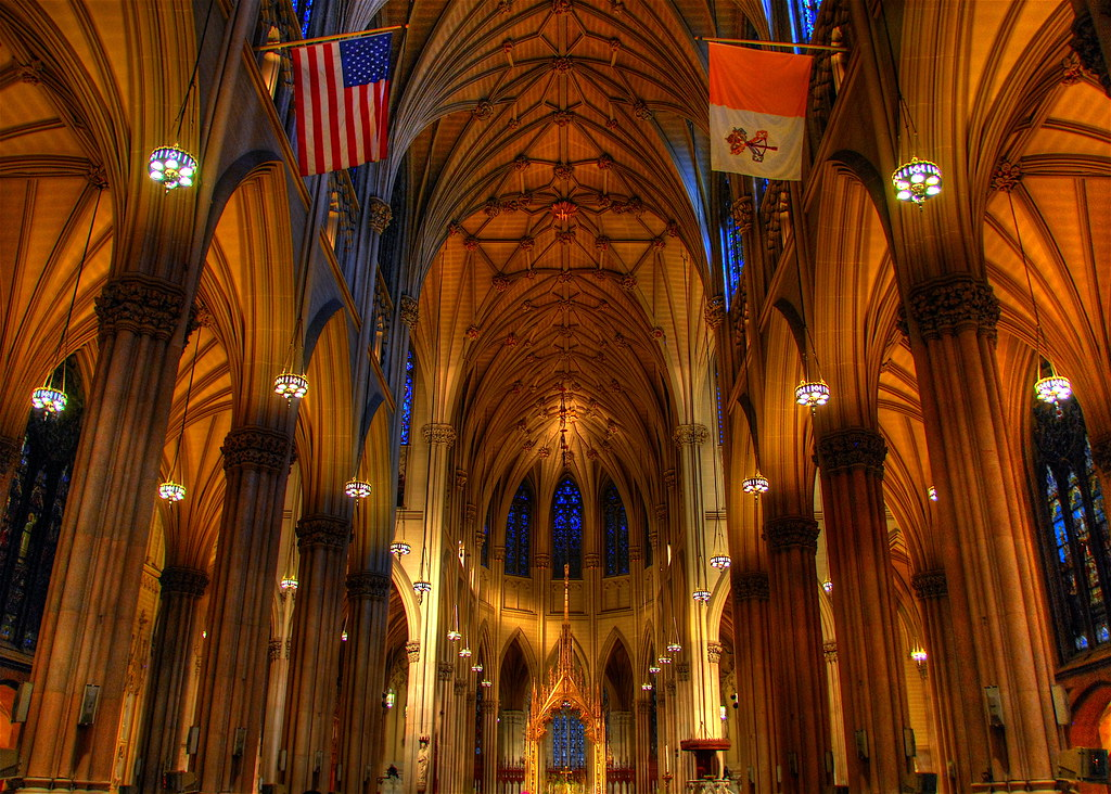 St. Patrick's Cathedral, New York City. Credit slack12, flickr