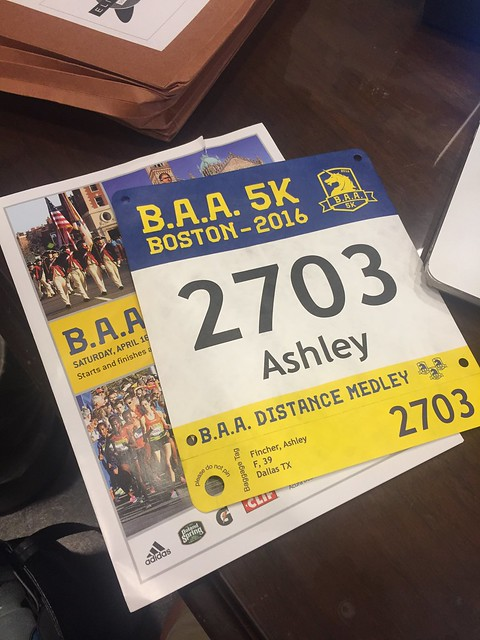 2016 BAA 5K, Expo and Sat Night Dinner