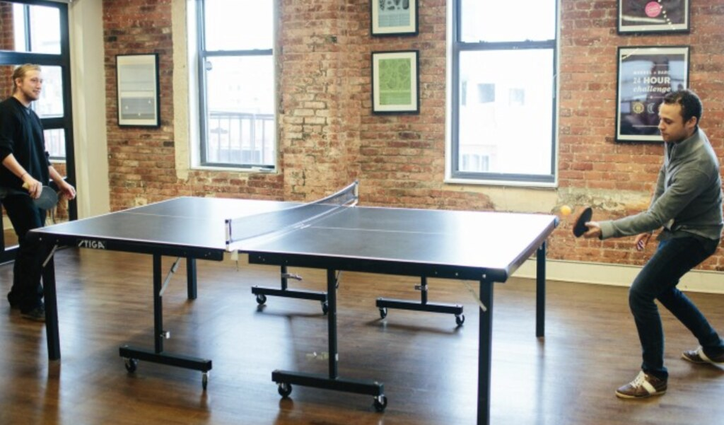 Office Ping Pong Table No Replacement for Decent Paycheck Real
