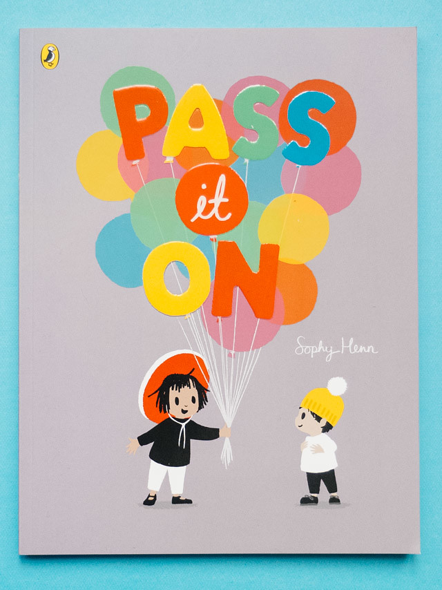 pass it on by sophy henn - book review » cardboardcities - creative lifestyle blog