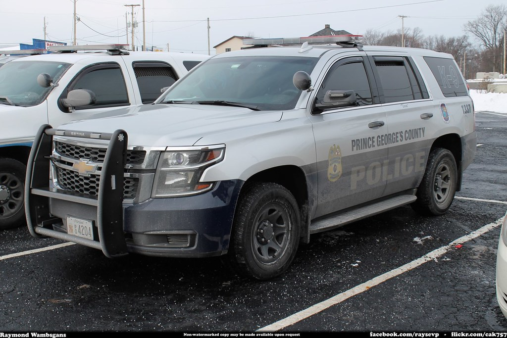 Prince George S County Police K 9 Maryland Chevrolet Tahoe