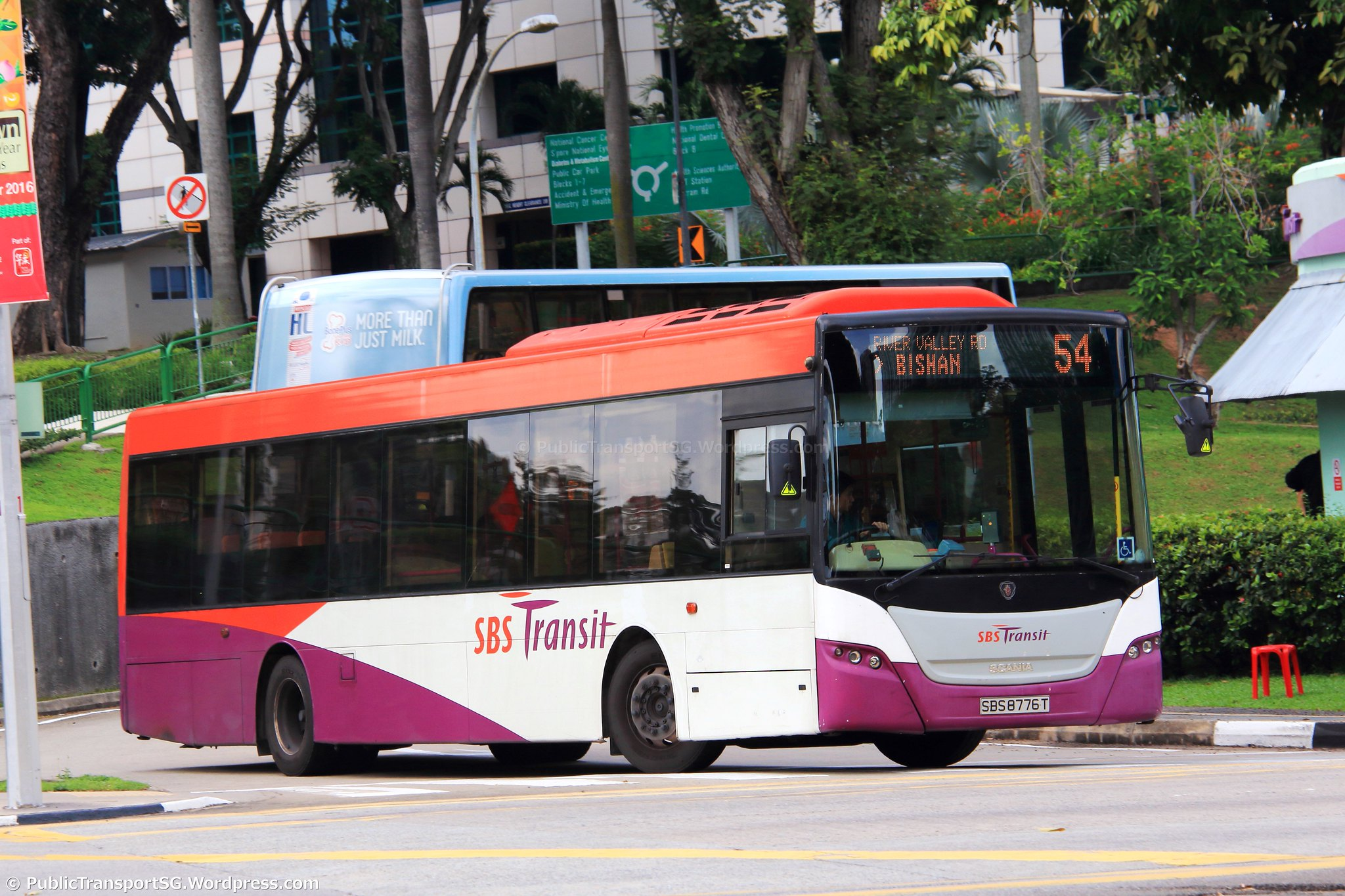 Sbs Transit Bus Service 54 Land Transport Guru