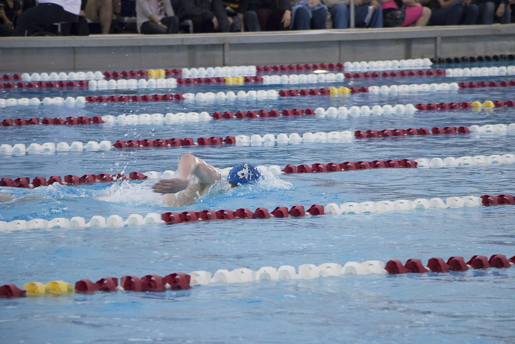 Osaa state swimming championship preliminaries on friday flickr for Mt hood community college pool open swim