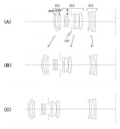 Патент на схему макрообъектива Canon EF-M 50/3.5 IS