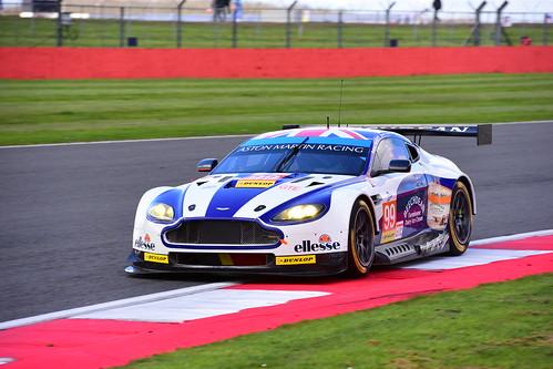 Andrew Howard - Darren Turner - Alex MacDowall, Aston Martin V8 Vantage, ELMS Silverstone 2016