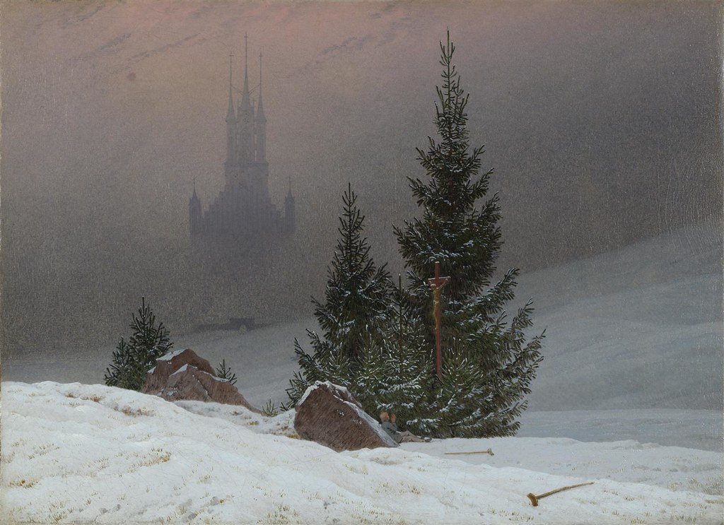 Winter Landscape by Caspar David Friedrich, 1811