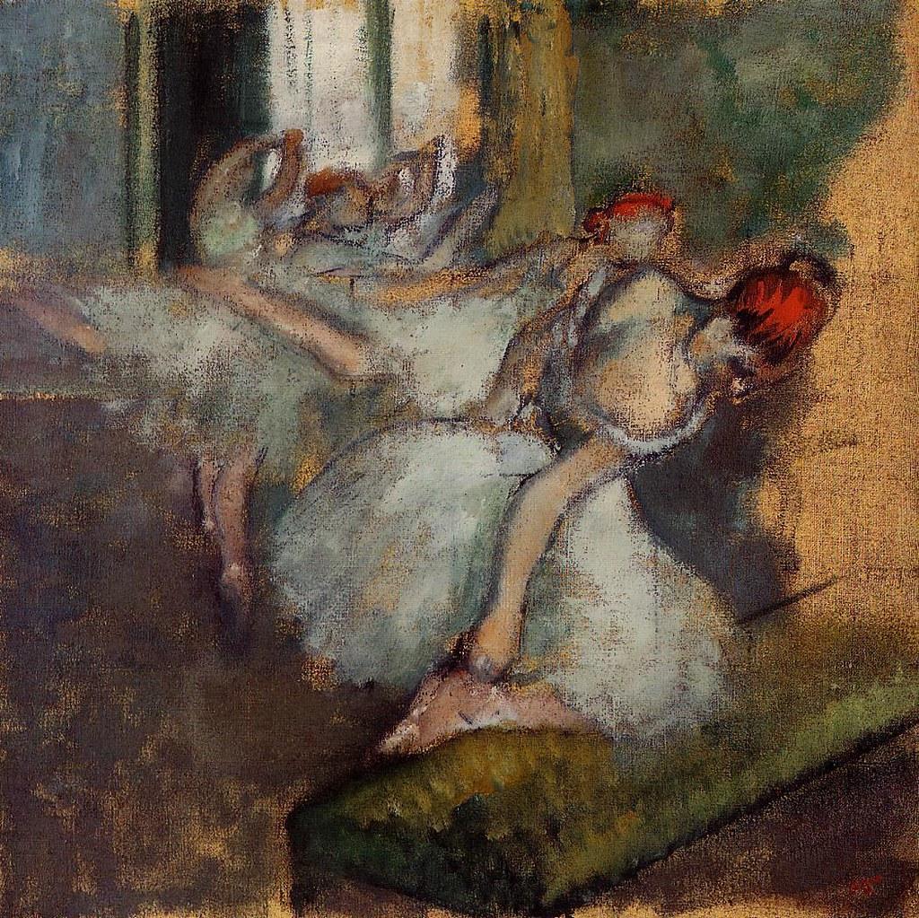 Ballet Dancers by Edgar Degas, c.1895