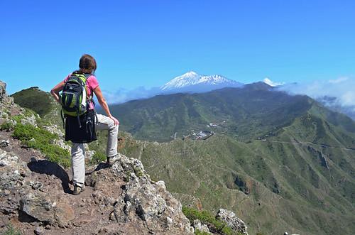 View of Mount Teide, Teno, Tenerife