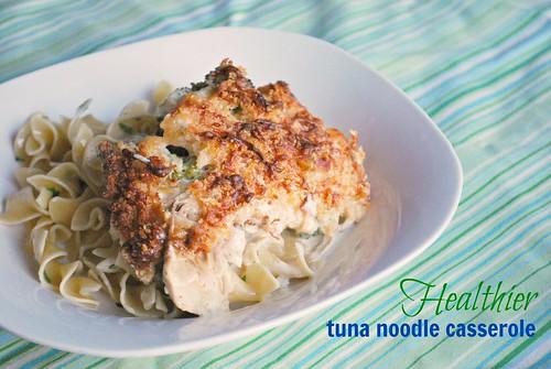 Instant Pot: Healthier Tuna Noodle Casserole