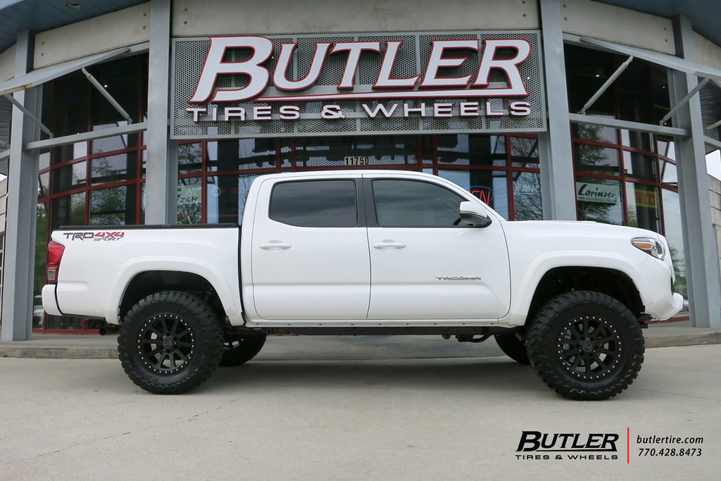 Toyota Tacoma With 18in Black Rhino Mint Wheels And Toyo M