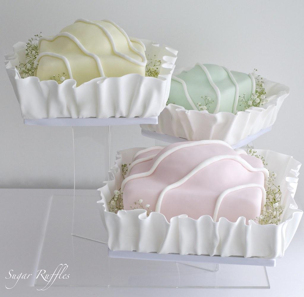 Fondant Fancy Wedding Cake Charlotte