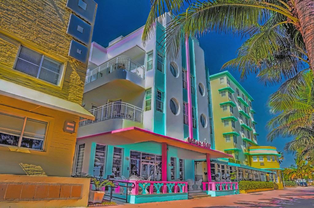 Ocean Surf Hotel 7436 Ocean Terrace Miami Beach Florida