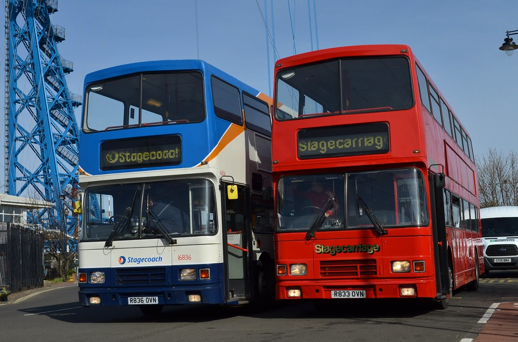 Stagecoach North East: 16836 / R836OVN & Stagecarriage 23 …   Flickr