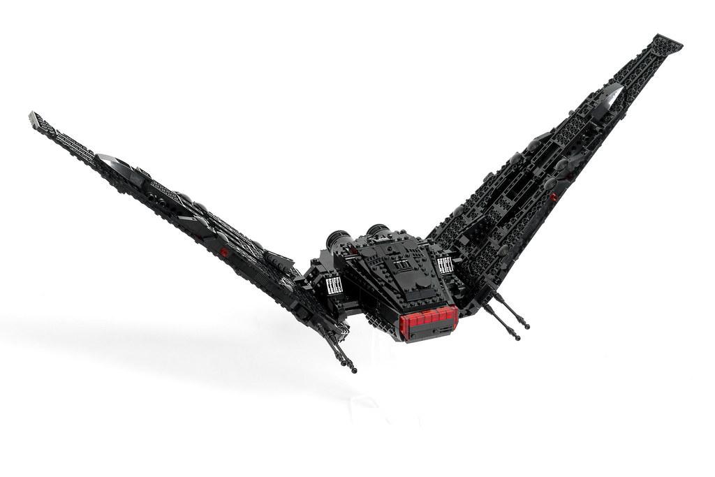 kylo ren space shuttle lego - photo #2