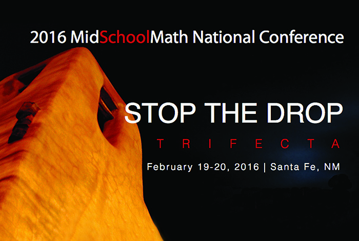 This month's MidSchoolMath conference will bring educators from a wide array of geographical areas to northern New Mexico.