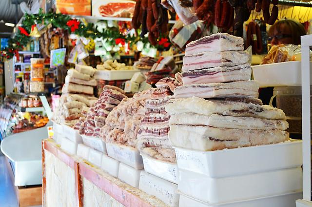 Salted meat, Farmers' Market, La Laguna, Tenerife