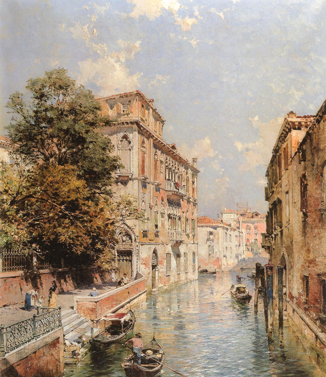 A View in Venice, Rio S. Marina