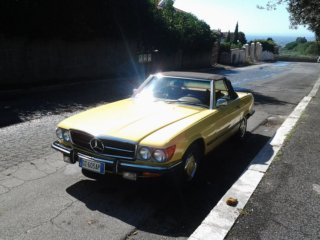 Mercedes Benz SL450 - 1973
