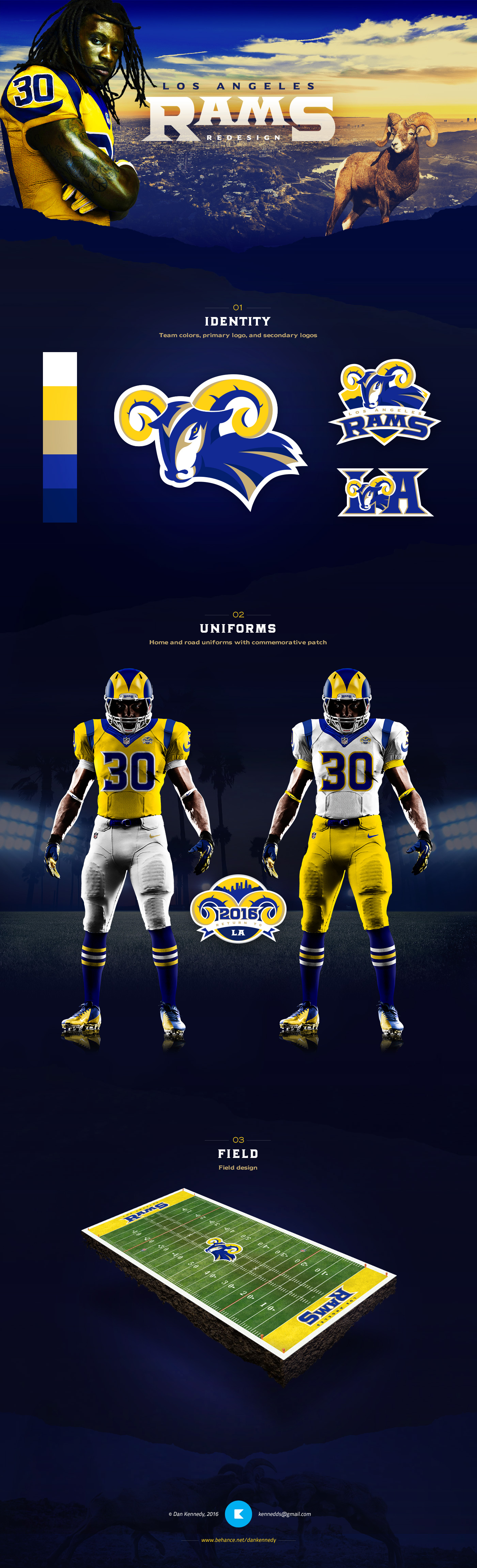 NFL Jerseys Official - Uni Watch contest results -- How you'd redesign the Rams for ...