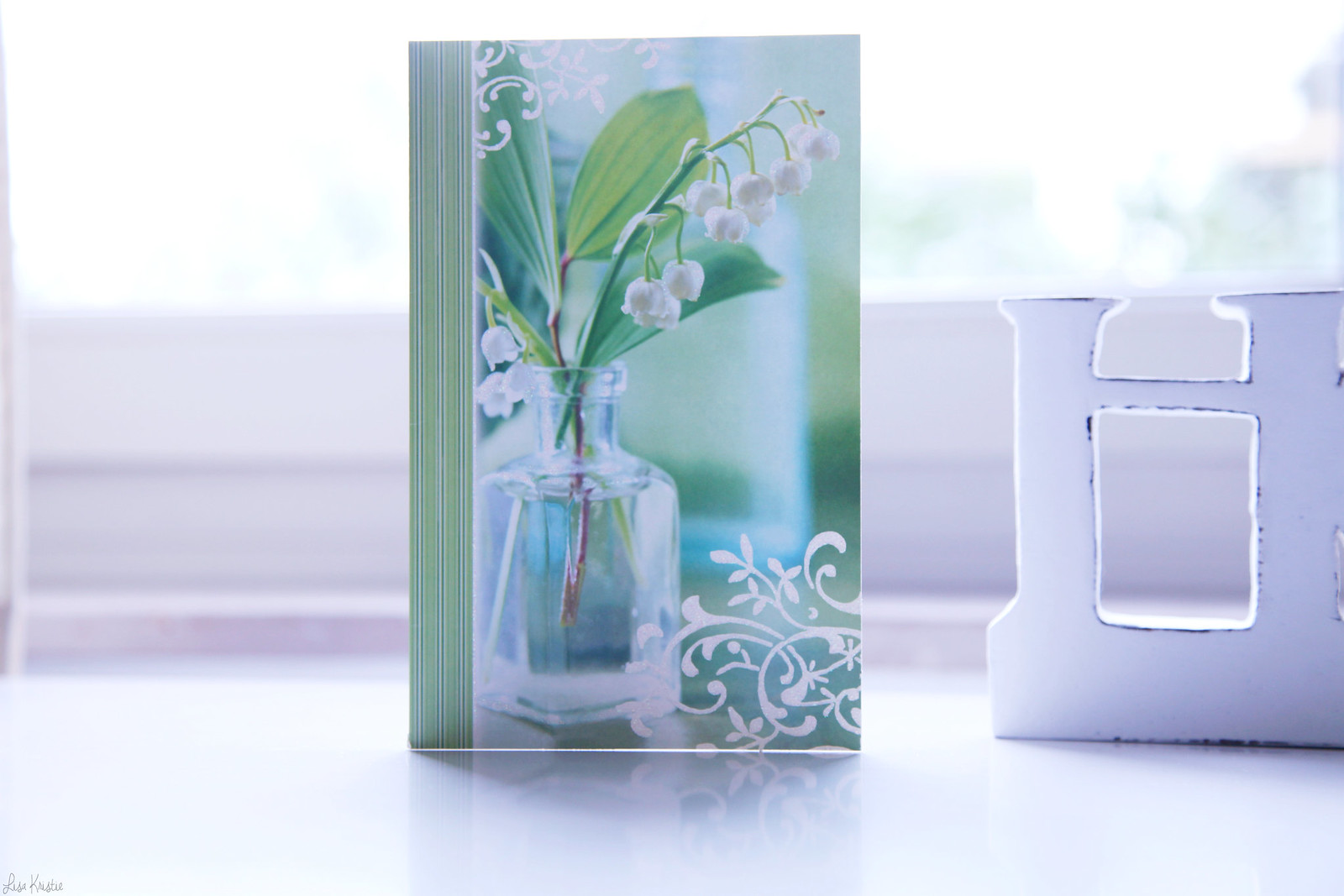 Lily of the valley wish card may 1st first belgium france holiday tradition