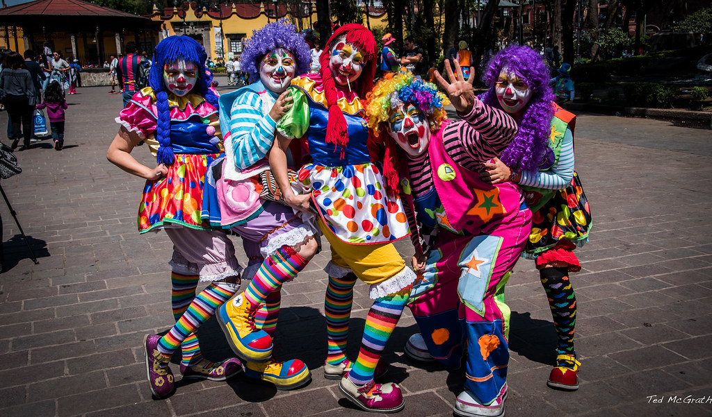Look Up A Number >> 2016 - Mexico City - The Clowns of Coyoacan | On the ...