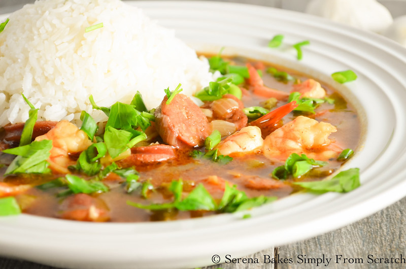Shrimp and Sausage Gumbo is the perfect comfort food.