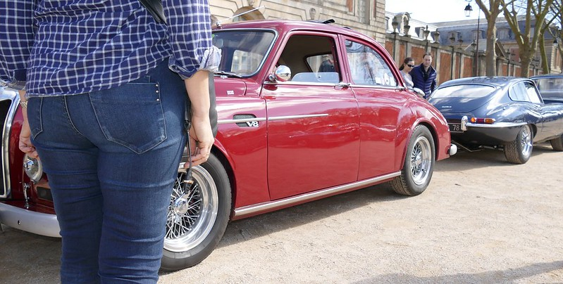 "Une berline ""Roosbeef"" sportive, la MG-V8 Magnette 25614013423_cfba508389_c"